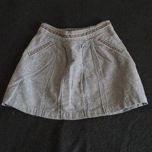Nautica grey skirt